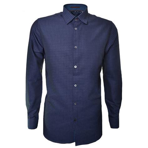 Sleeve Shirt Navy Blue ted baker mens sleve navy blue shirt