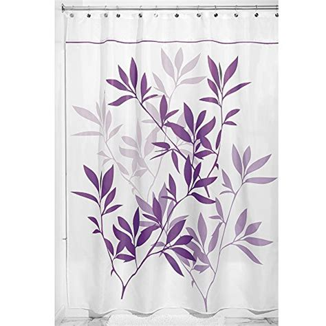 84 inch long fabric shower curtains interdesign leaves fabric shower curtain long 72 inch by