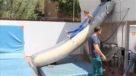 practicas del curso de tripulante de cabina en zaragoza  youtube