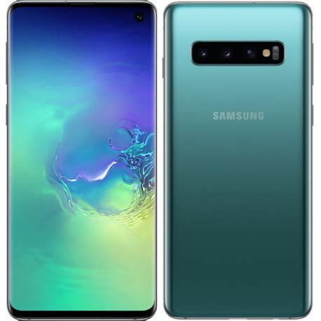 samsung galaxy s10 plus g975f 128gb 8gb ram dual sim green