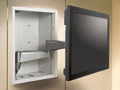 swing box tv swing arm lcd tv wall mount bracket enclosure 26 32 quot ebay
