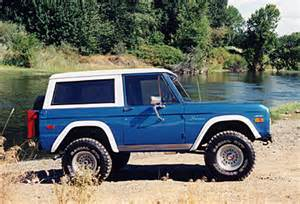 the story of the ford bronco spencer s