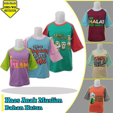 Kaos Distro Murah Meriah Promo pusat grosir kaos muslim anak murah 17ribuan 0857 7221