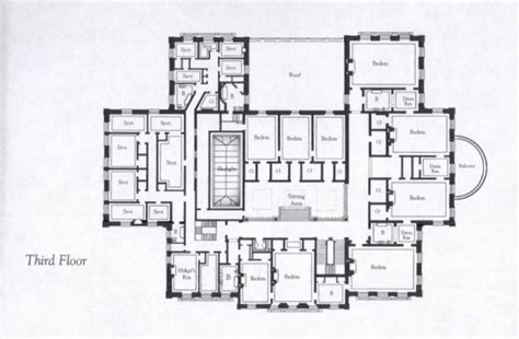 the breakers floor plan breakers mansion third floor plan mansions pinterest