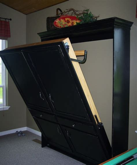 Build Murphy Bed Diy Murphy Bed Genius Bob Vila
