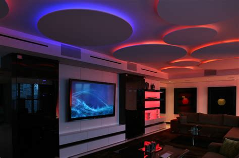 Led Lights For Living Room by Miami Penthouse Mancave Gameroom Led Lighting