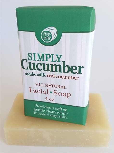 Country Soap Co by Simply Cucumber Soap 4oz Amish Country Soap Co