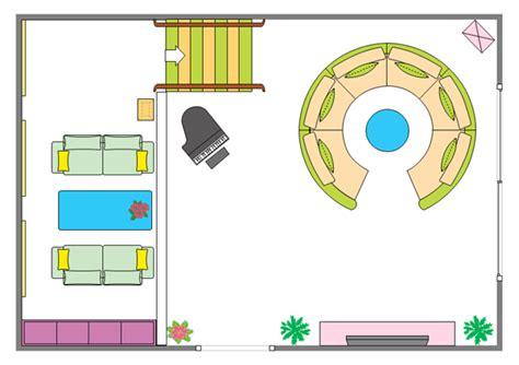 Living Room Floor Plan Template Floor Plan Drawing