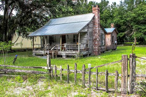 florida cracker house old home in yulee photograph by scott moore