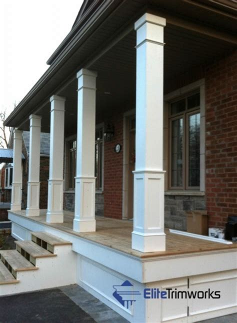 Exterior Column Wraps Column Wraps Traditional Exterior Toronto By Elite