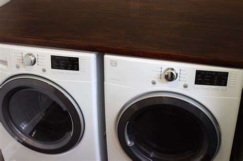 diy laundry room countertop chic house