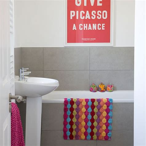 bright coloured bathroom accessories modern bathroom with splashes of colour bathroom