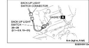 back up light switch removal installation