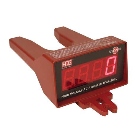 high voltage electric company hd electric hva 2000 high voltage digital ammeter