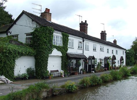 Cottages Staffordshire by Canalside Cottages Barlaston 169 Roger Kidd Cc By Sa 2
