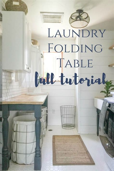 laundry room folding table ideas best 25 laundry folding tables ideas on