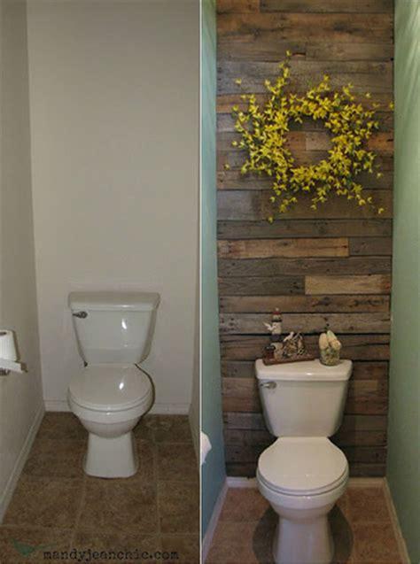 powder room wall decor ideas diy decorating ideas thrifty thursday 1