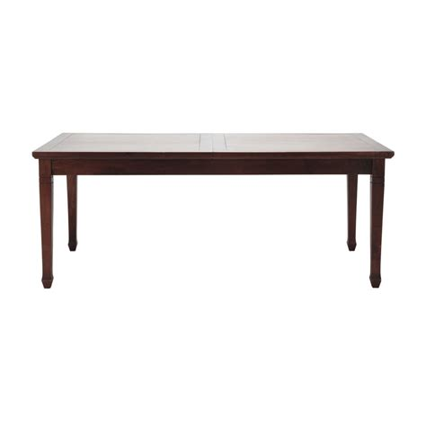 Extending Wooden Dining Table Mango Wood Extending Dining Table W 180cm Colonies Maisons Du Monde