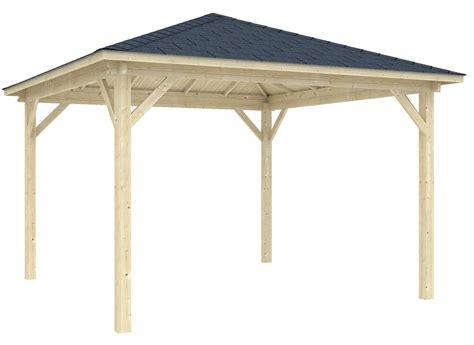 Holz Pavillon 3 X 4 M by Gartenlaube Lanzarote Gr 246 223 E 4 00 X 4 00 M Gartenpavillon