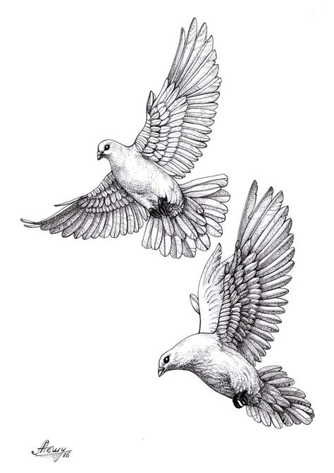 flying dove tattoo designs the gallery for gt dove sketch
