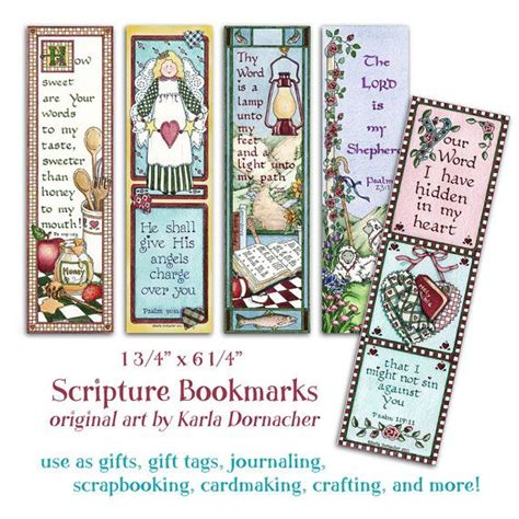 printable bookmarks christian five bible bookmarks instant download scripture verse