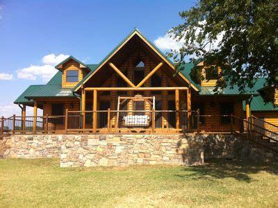 Lake Cabin Rentals Oklahoma by Luxury Cabin Near Lake Texoma And Choctaw Casino Vacation