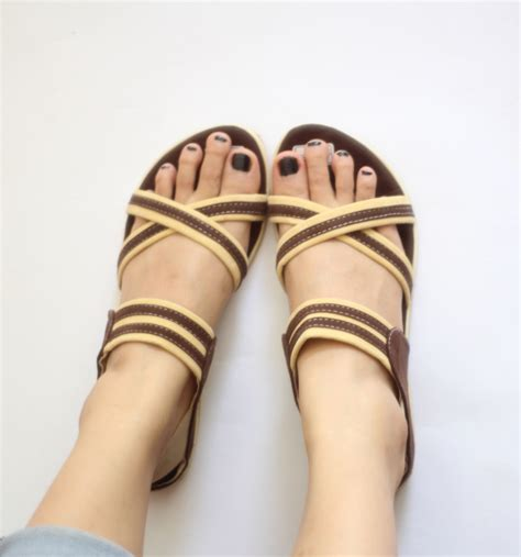 Sandal Wanita Simpel Nyaman Wrna jual sdl 33 sandal wanita flat tali sendal sepatu
