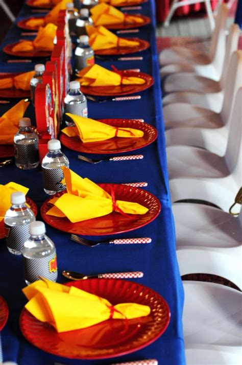 adult superhero party ideas birthday inspired place settings ideas and inspiration