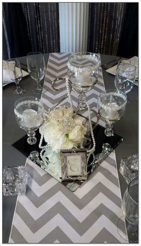 Mirror Tiles For Table Decorations
