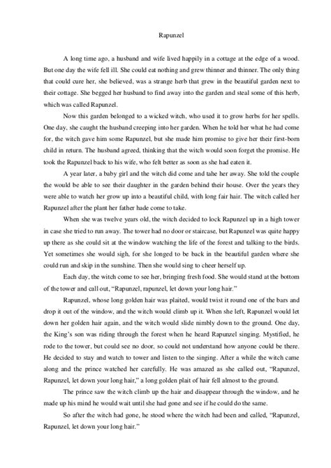 struktur text biography bahasa inggris cerita dongeng narrative text rapunzel dalam bahasa inggris