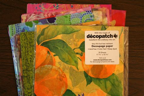 How To Decoupage With Tissue Paper - decoupage paper decoupage and paper on
