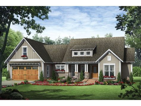 Mission Style House Plans by Craftsman Ranch House Plans Single Story Craftsman House