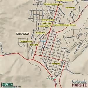 map of durango colorado and surrounding cities durango colorado mapsite