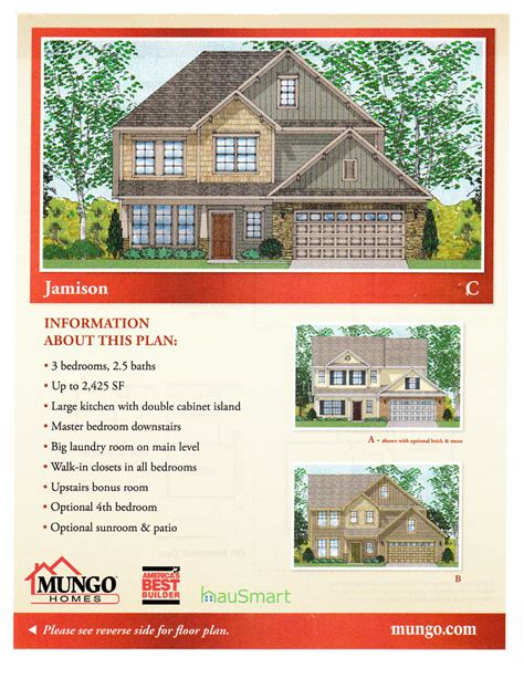 mungo homes roland floor plan