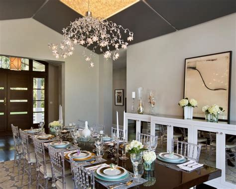 how to decorate your dining room dining room lighting designs hgtv