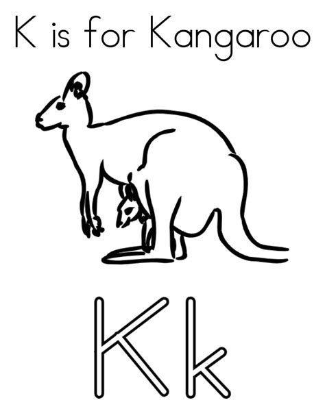 free coloring pages of kangaroos free coloring pages of kangaroo outline