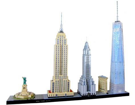 New York City Xl lego moc new york city skyline in zusammengebaut