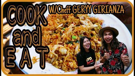 cara membuat nasi uduk ala chef juna cara membuat nasi goreng ter mawut ala chef gerry youtube