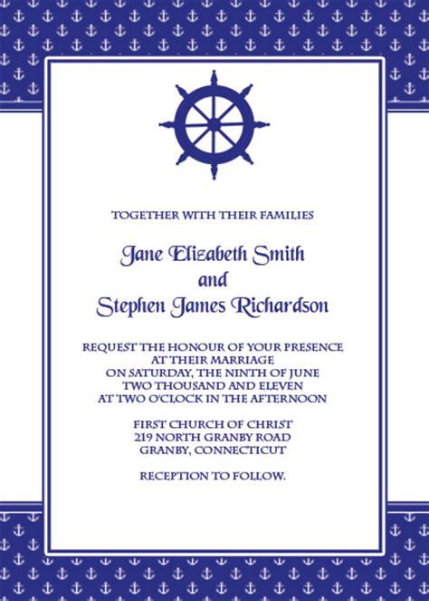 free printable wedding invitations navy free navy blue wedding invitation templates matik for