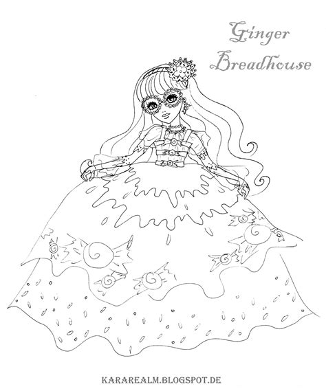 ever after high coloring pages gingerbread house way too wonderland ever after high coloring pages coloring