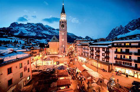 cortina italia na it 225 lia a vila de cortina d ezzo tem pistas de esqui