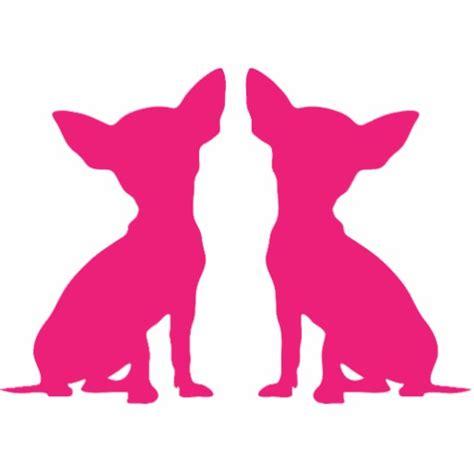 California Room Designs by Pink Chihuahua Cute Silhouette Sculpture Gift Photo Cut