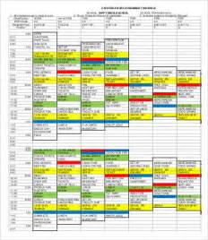 assignment schedule sogol co