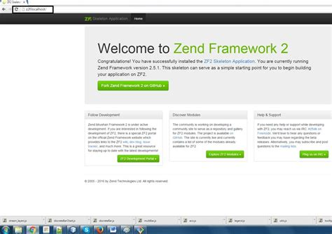 zend framework 2 layout tutorial learn zf2 learning by exle doc