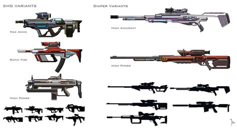 gun designs borderlands gun design by leejj on deviantart