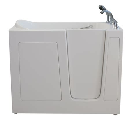 4 foot 6 inch bathtub ella e series soaking 4 feet 6 inch walk in non whirlpool