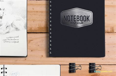 photoshop template notebook free notebook mockup psd template age themes