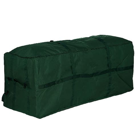 heavy duty christmas tree storage bag h208267 qvc com