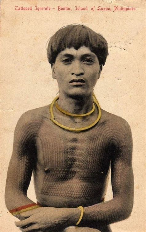 igorot tribal tattoos ancient tribal tattoos piercing scarification