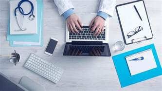 free picture doctor office laptop computer smartphone